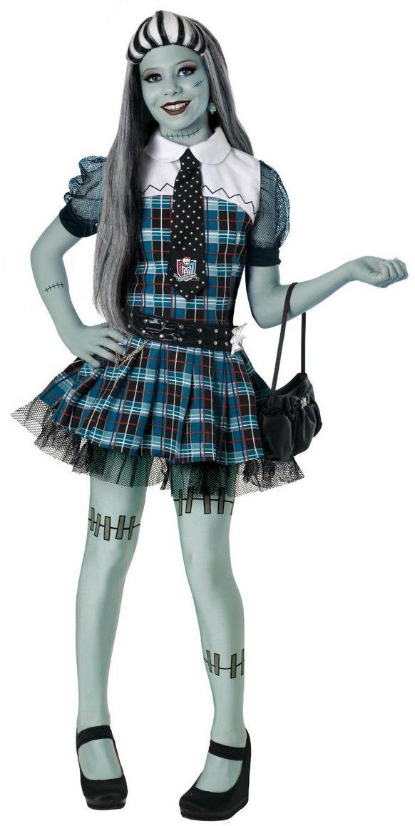 monster high costumes   Frankie Stein Monster High costume : Vegaoo Kids Costumes