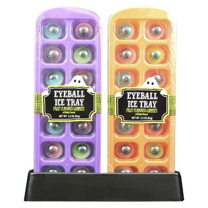 target halloween ice cube tray with gummy eyeballs 3 2 oz target zombie prom ice cube trays. Black Bedroom Furniture Sets. Home Design Ideas