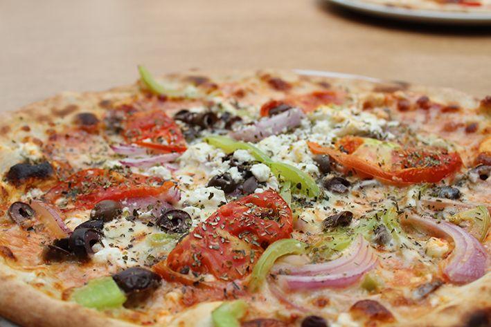 Brunchy Risto Pizza Pasta Italian taste Athens Restaurant Greece Smartpark Food Greek Pizza