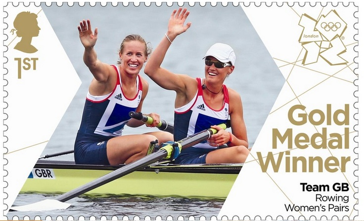 Team GB Rowers Helen Glover and Heather Stanning