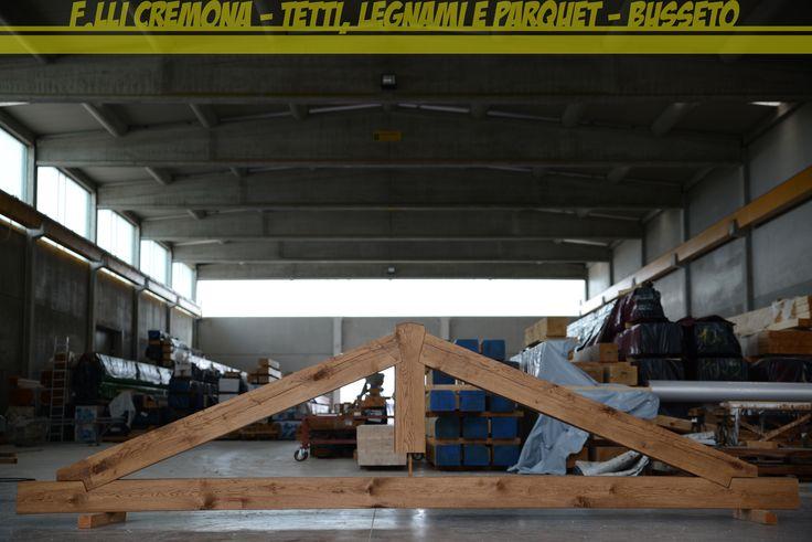 Capriata in Rovere Massiccio... #roof #wood #wooden #nature #oak #rovere #capriata #tettoinlegno #tetto #cremonalegnami #makeyourownnow