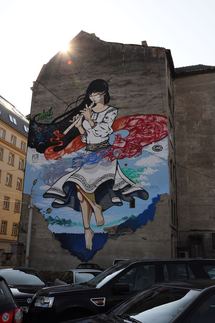 "Nego & Lux HiFi - ""Doina"" (Timisoara, Romania) : street art"
