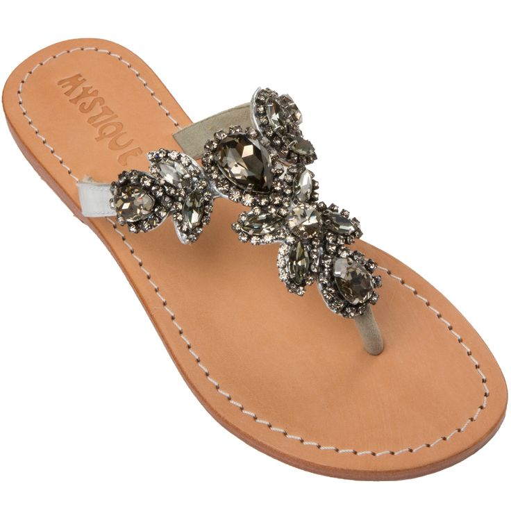 Mystique Sandals features unique hand crafted leather women's sandals that are embellished with jewelry