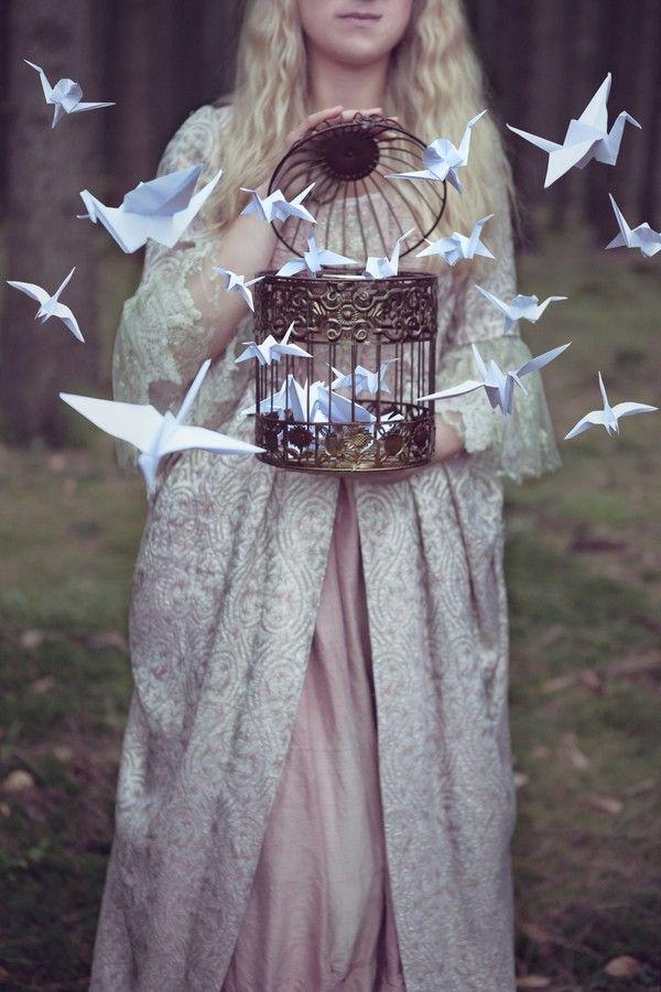 """""""Amar é ter um pássaro pousado no dedo. Quem tem um pássaro pousado no dedo sabe que, a qualquer momento, ele pode voar."""" —Rubem Alves"""