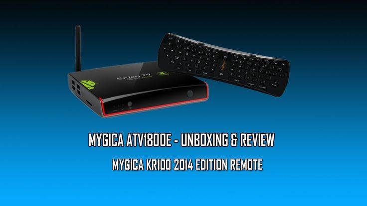 MyGica ATV1800E QuadCore 4K Unboxing & Little Review