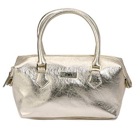 BORSA BAULETTO CARPISA METALLIC MEDIA A MANO/TRACOLLA