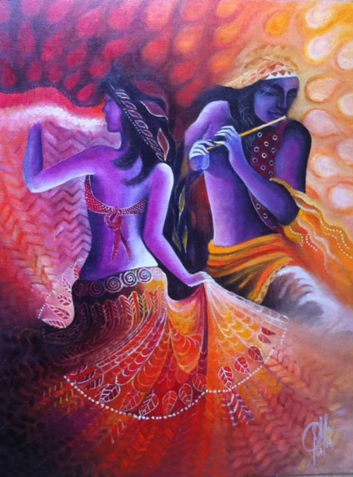 Beautiful Radha Krishna