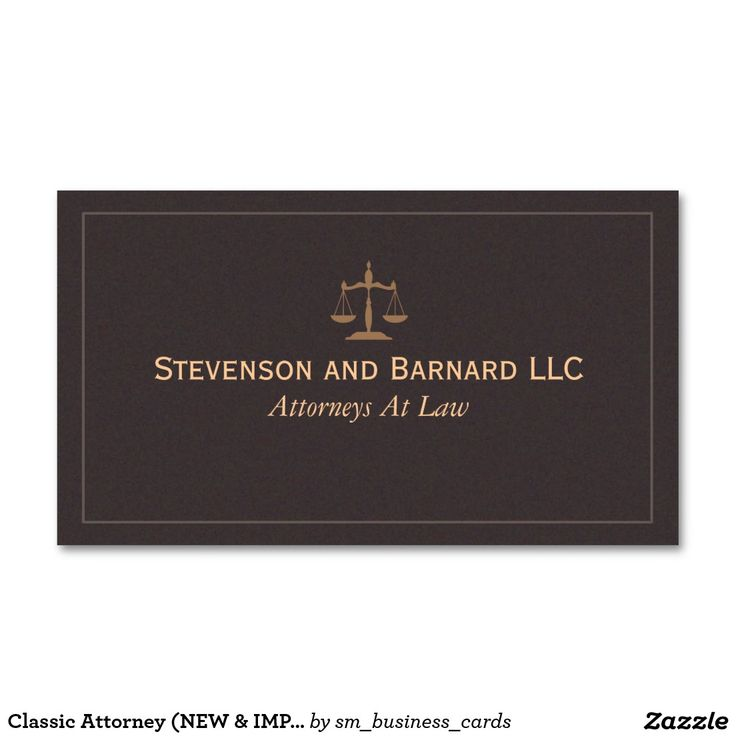 20 best Customizable Attorney and Professional Business Cards ...