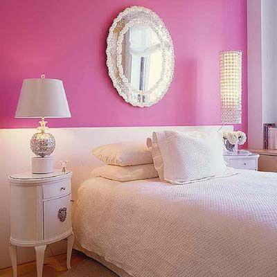 idea-decoracion-dormitorio-cuarto- habitacion-rosa-moderno 1
