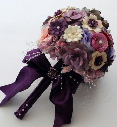 Handmade paper flower gift wrap handmade gift wrap for Handmade paper creations