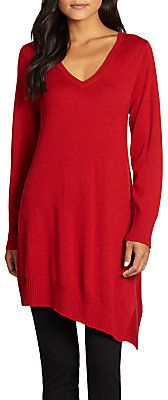 Eileen Fisher Asymmetric Merino Wool Tunic on shopstyle.com