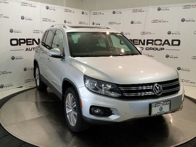 CPO 2015 Volkswagen Tiguan 4MOTION Auto SE w/Appearance for sale at Open Road Volkswagen Manhattan in New York, NY for $18,491. View now on Cars.com.