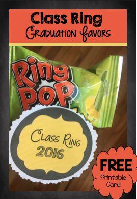 Ring Pop Kindergarten Class Rings