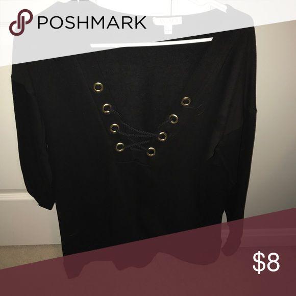 Black tunic dress Never worn black agaci dress Dresses Mini