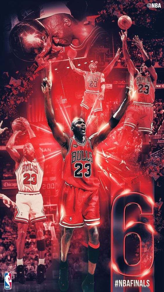 Michael Jordan 6 NBA Finals