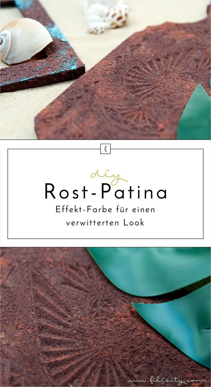 die besten 25 patina farbe ideen auf pinterest kalkbemalte m bel edelrost und kreide farbe. Black Bedroom Furniture Sets. Home Design Ideas