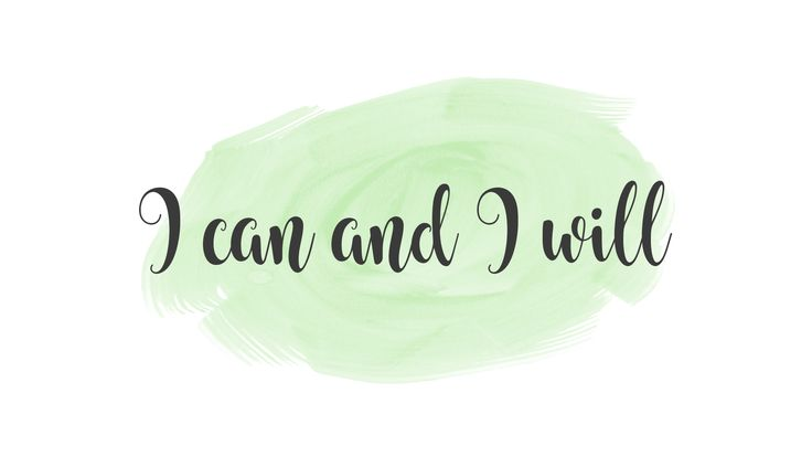 I can and I will | motivational quote for desktop background wallpaper. find more to download free -  girl power inspiration on the blog.