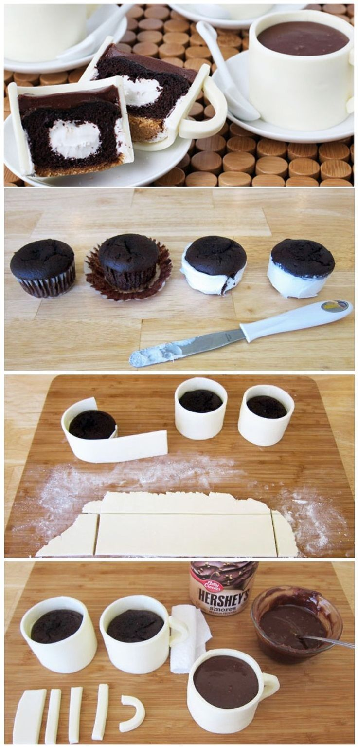 Cup cake tasse de café