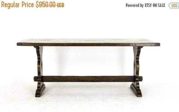 BOXING DAY BLOWOUT B318 Antique Scottish Solid Oak Refectory