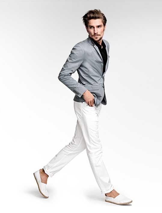 alpargatas hombre casual outfit