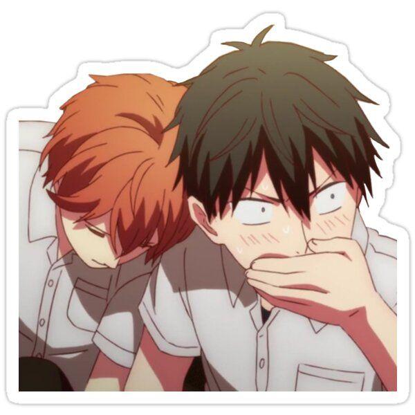 Given Mafuyu Sato Uenoyama Ritsuka Anime Sticker Sticker By Chugabug5 In 2021 Anime Stickers Anime Anime Characters