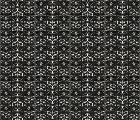 africa_dark_pattern fabric by arrpdesign on Spoonflower - custom fabric