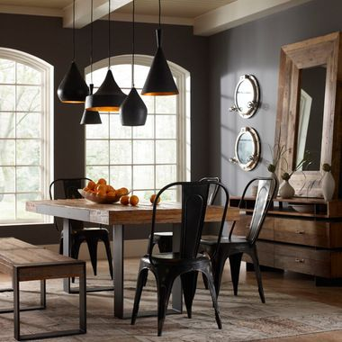Steel And Wood Table Design Ideas, Pictures, Remodel, and Decor - page 16