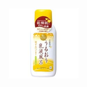 COW SOAP Oyu monogatari — увлажняющая эссенция для ванны с ароматом японского цитруса юдзу. • Для тела • MelonPanda Beauty Shop - интернет магазин японской косметики