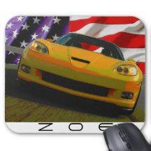 2009 Corvette Z06 Mouse Pad