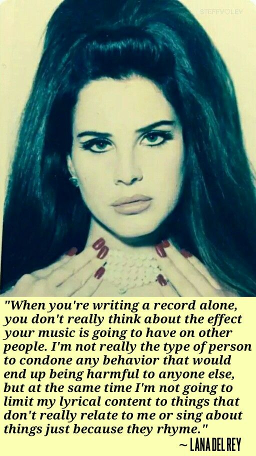 Lana Del Rey interviewed by James Franco for V Magazine #LDR #quotes