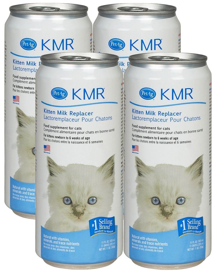 KMR Liquid Milk Replacer for Kittens and Cats, Safety Sealed   - Cat Supplies
