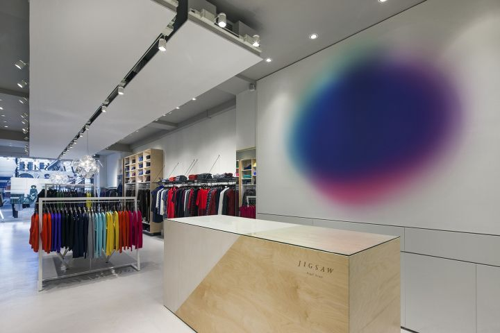 Jigsaw Argyll Street store by Dalziel and Pow, London – UK » Retail Design Blog