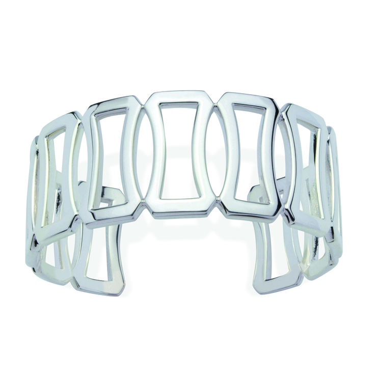 Sterling silver cuff - Deanna collection