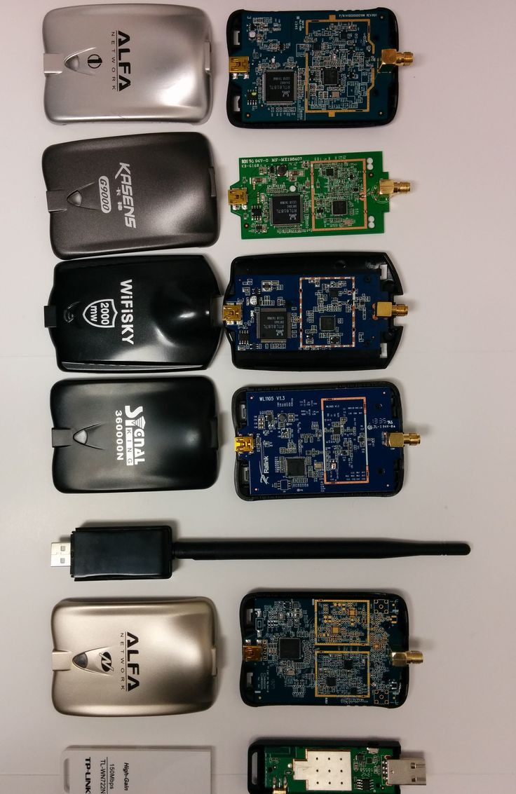 Wifi Adapters from side