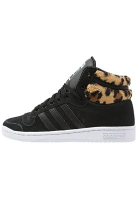 adidas Originals TOP TEN - High-top trainers - core black/mist slate for £35.00 (18/04/16) with free delivery at Zalando