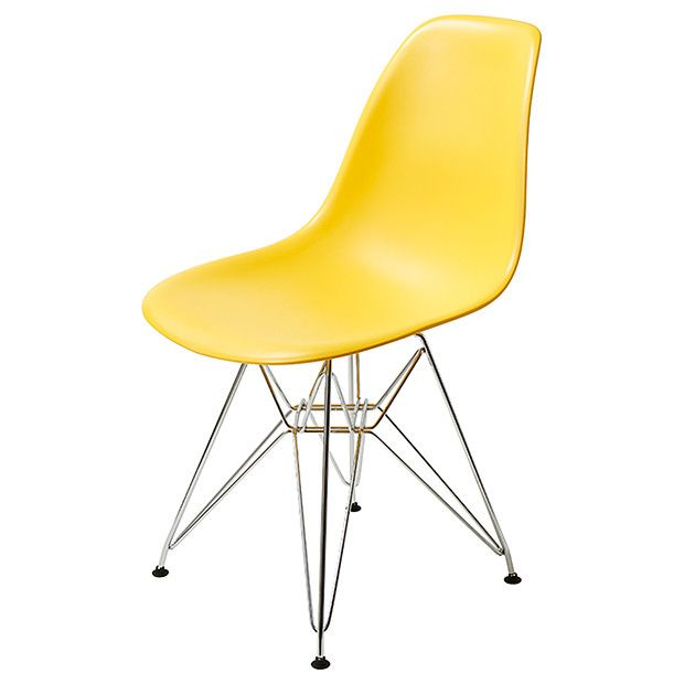 Replica Eames DSR Side Chair - Yellow