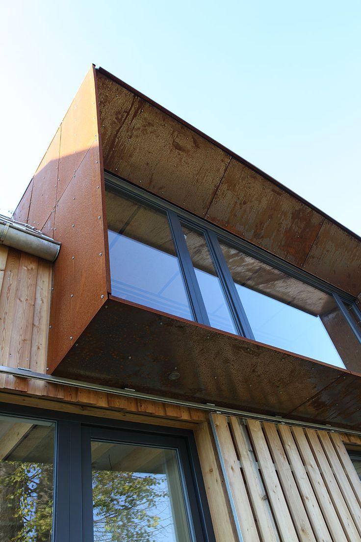 dřevostavba v Roprachticích - detail