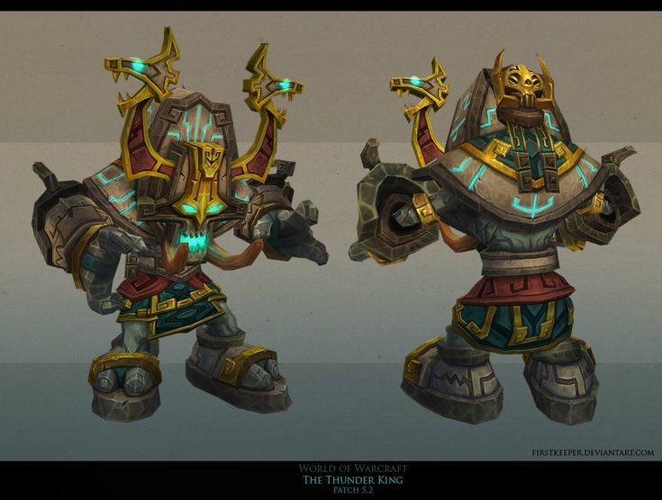 The Thunder King stuff - Polycount Forum