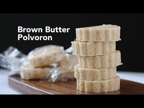Brown Butter Polvoron Recipe | Yummy Ph - YouTube