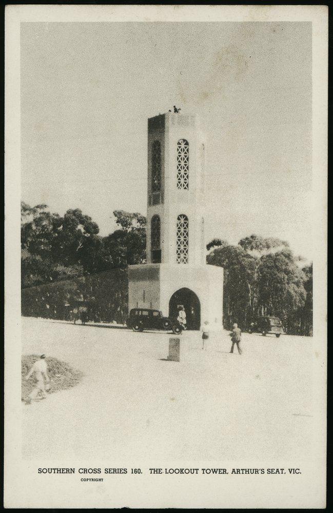 Arthurs Seat Tower - 1930