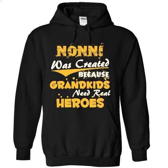Nonni - A Real Hero - custom tshirts #tshirt inspiration #sweater scarf