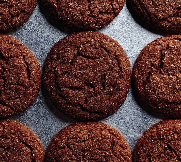 Molasses keeps these cookies magically fresh and chewy for days.: