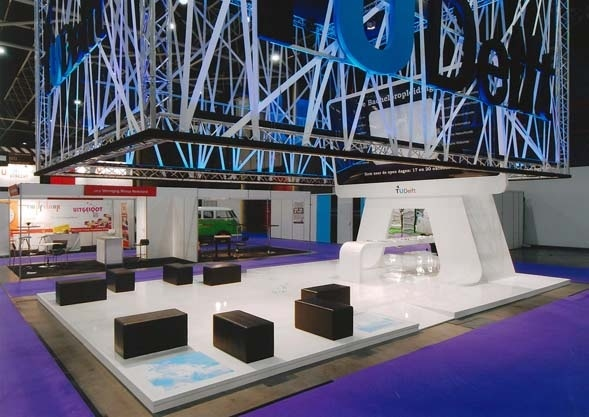 Exhibition Stand University : Stand design education fair utrecht delft technical