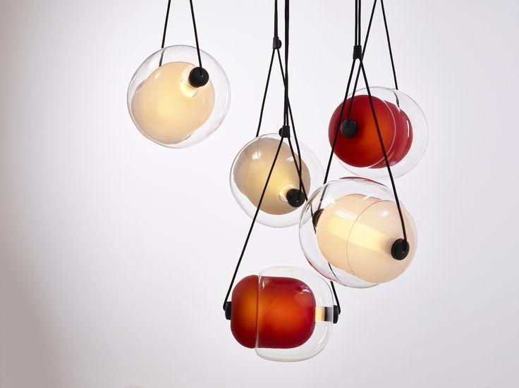 Brokis - CAPSULA by Lucie Koldova  Interior - light - design - red.