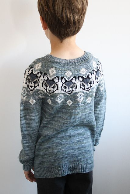 Ravelry: Wolf in sheep clothing sweater pattern by Yvonne B. Thorsen