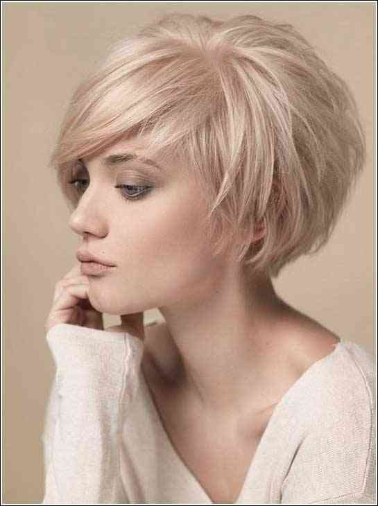 Frisuren Kurz Blond 2017