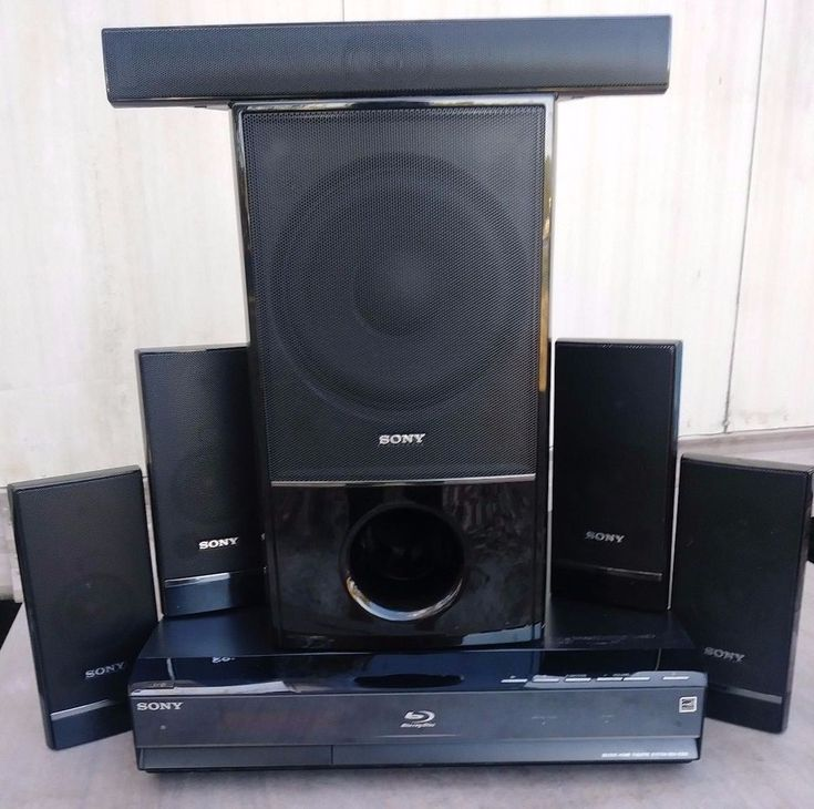 Sony Home Theatre Blu-Ray/DVD BDV-E300 1000 Watt Surround Sound System & Speaker #Sony