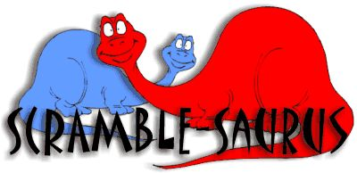 Scramble-Saurus and other elementary grades educational games
