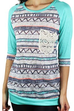Feeling MINTY this Summer 2015? Then this adorable top from www.savedbythedress.com is for you! #fashion #summertrends #minttop
