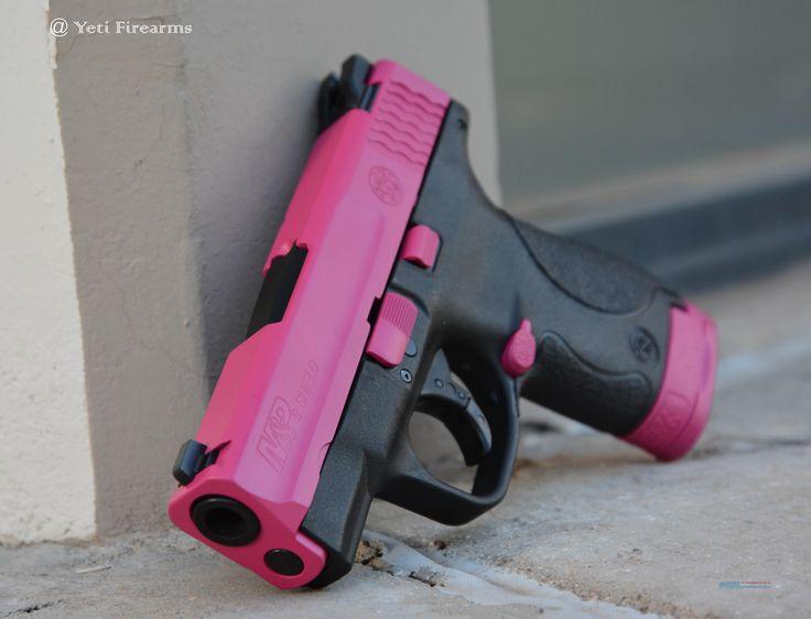 X-Werks Raspberry Pink S&W M&P Shield 9mm 10035 SW  Guns > Pistols…Find our speedloader now!  http://www.amazon.com/shops/raeind